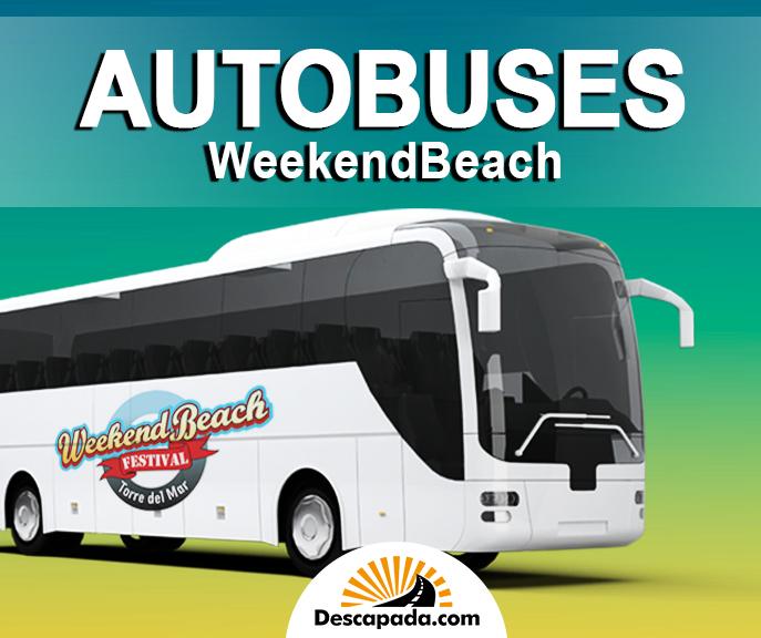 Autobuses WeekendBeach