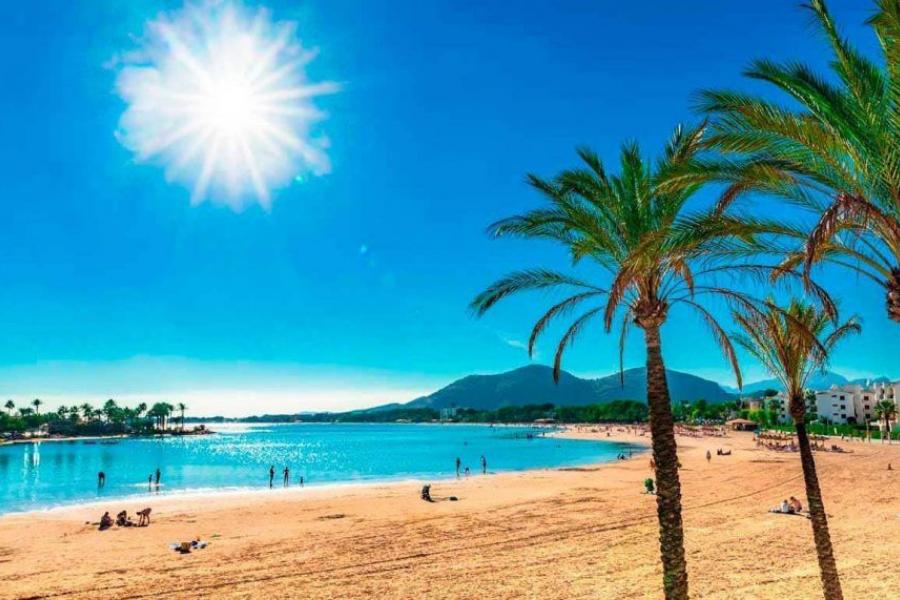 Portada playa hotel Alcudia-alt